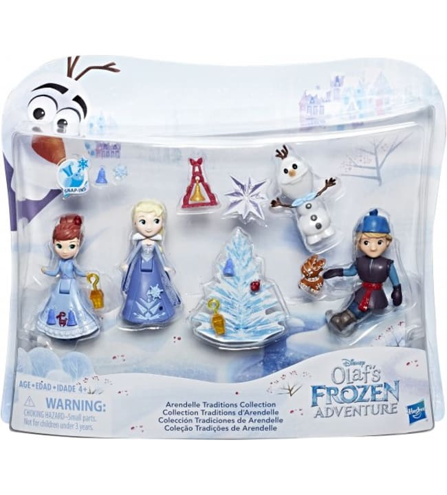 Frozen Small Doll Holiday Special Pack