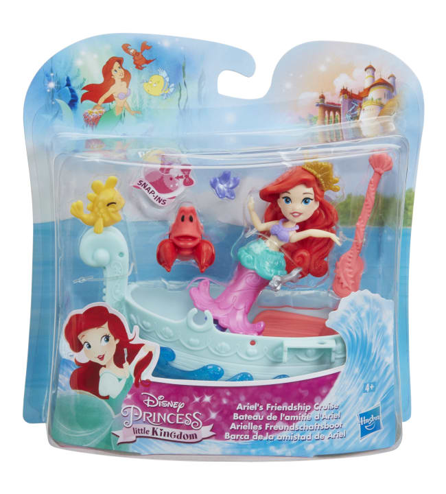 Disney Princess Small Doll Boat nukke