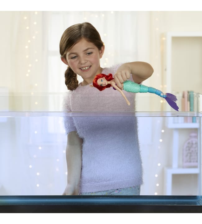Disney Princess Swimming Adventures Ariel nukke