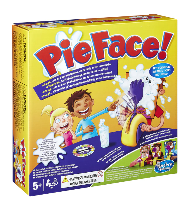 Pie Face Chain Reaction peli