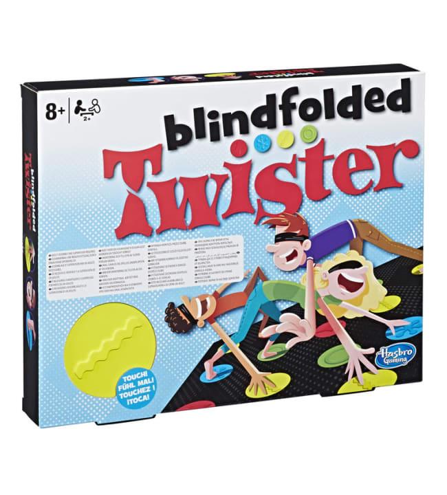 Blindfolded Twister peli
