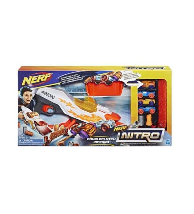 Nerf Nitro Doubleclutch Inferno autolaukaisin