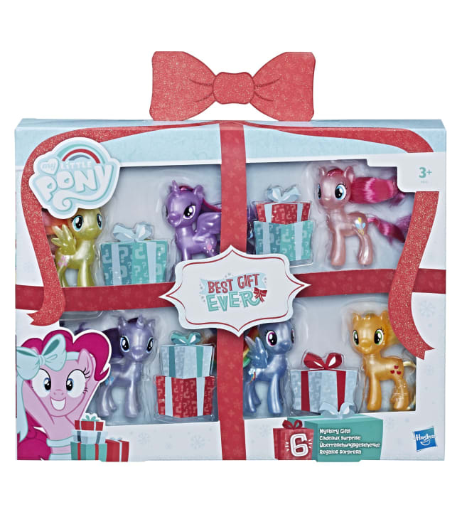 My Little Pony Best Gift Ever 6-pack poni lahjapakkaus