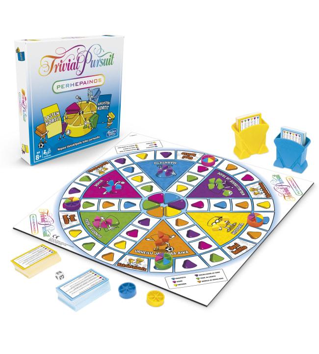 Trivial Pursuit Family Edition peli