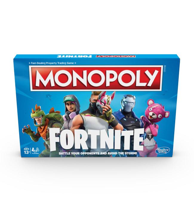 Monopoly Fortnite peli (englanninkielinen)