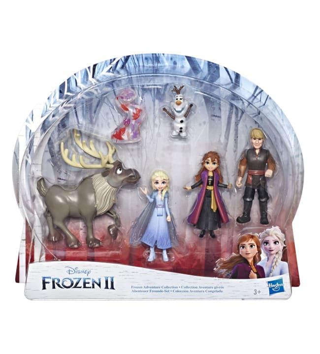Disney Frozen 2 pikkunukke monipakkaus