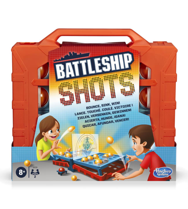 Battleship Shots laivanupotuspeli