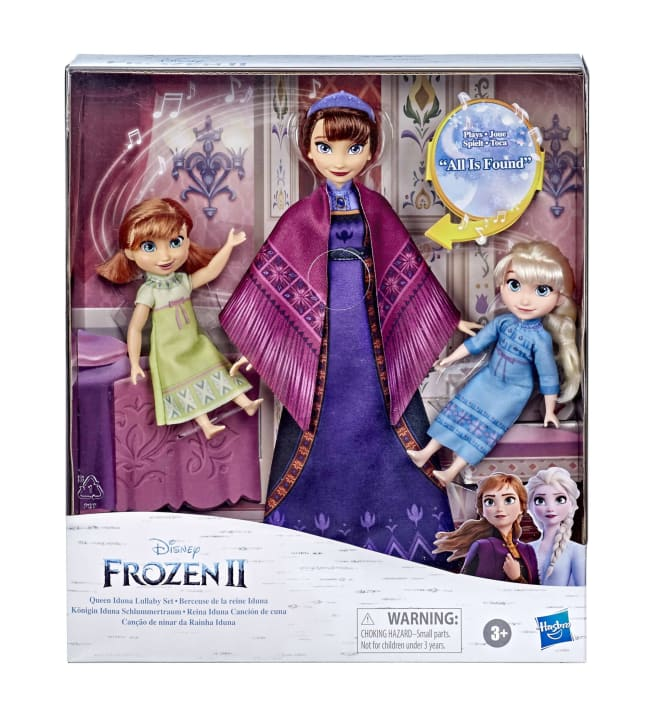Frozen 2 Lullaby Mom and Toddlers nukkesetti