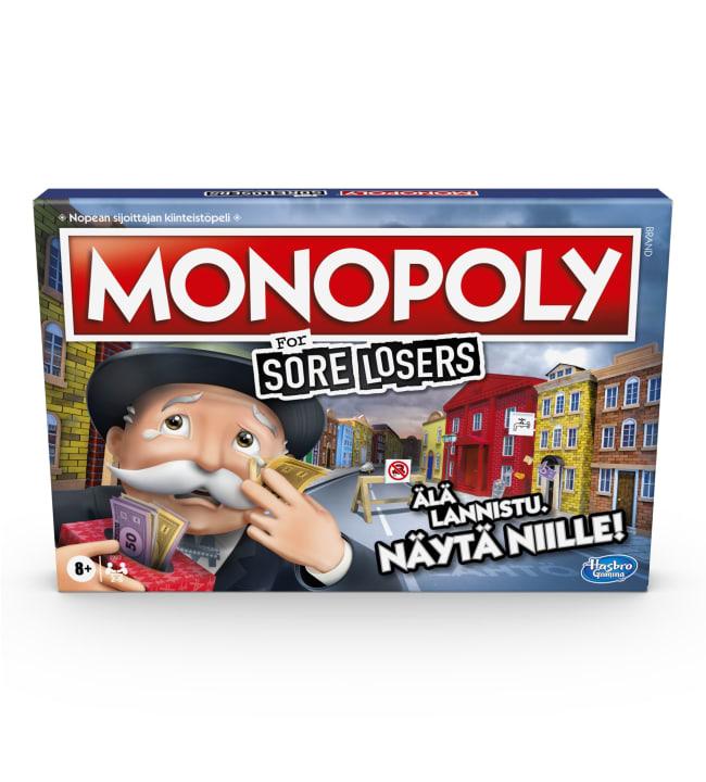 Monopoly Sore Loosers Edition lautapeli