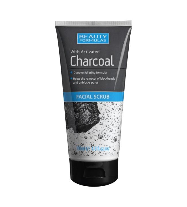 Beauty Form Charcoal Faciel Scrub 150 ml kuorintavoide