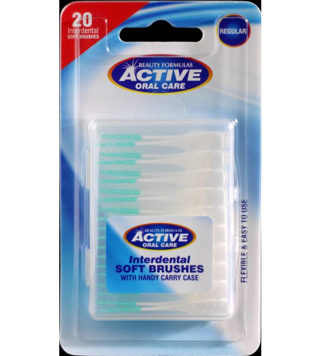 Active Pehmeät hammasväliharjat