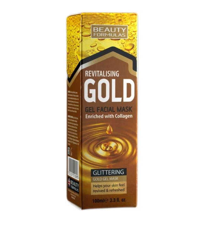 Beauty Formulas Revitalising Gold 100 ml kasvonaamio