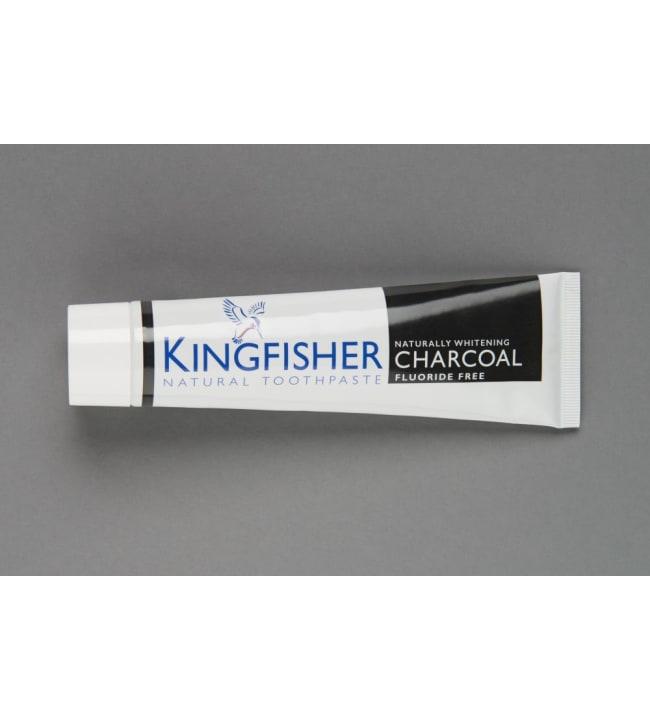 Kingfisher Charcoal 100 ml fluoriton hammastahna