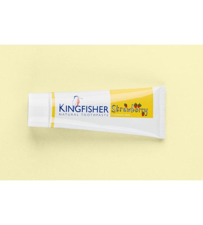 Kingfisher Strawberry 75 ml lasten fluoriton hammastahna