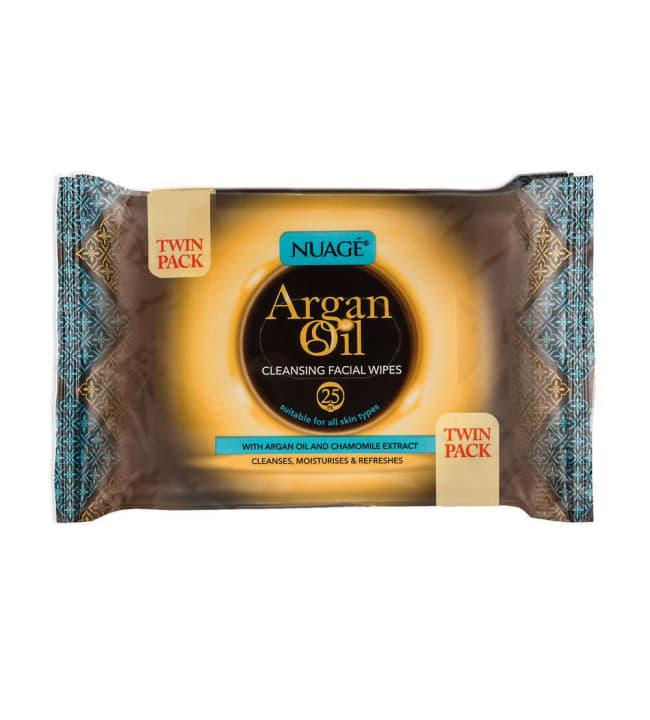 Nuage Argan Oil 50kpl puhdistusliinat
