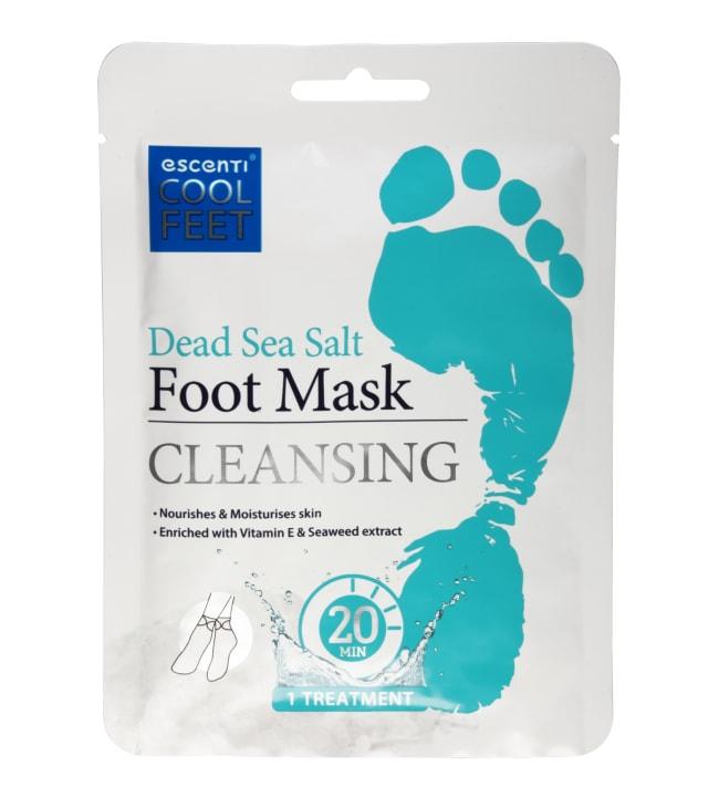 Escenti Dead Sea Salt Foot Mask jalkanaamio