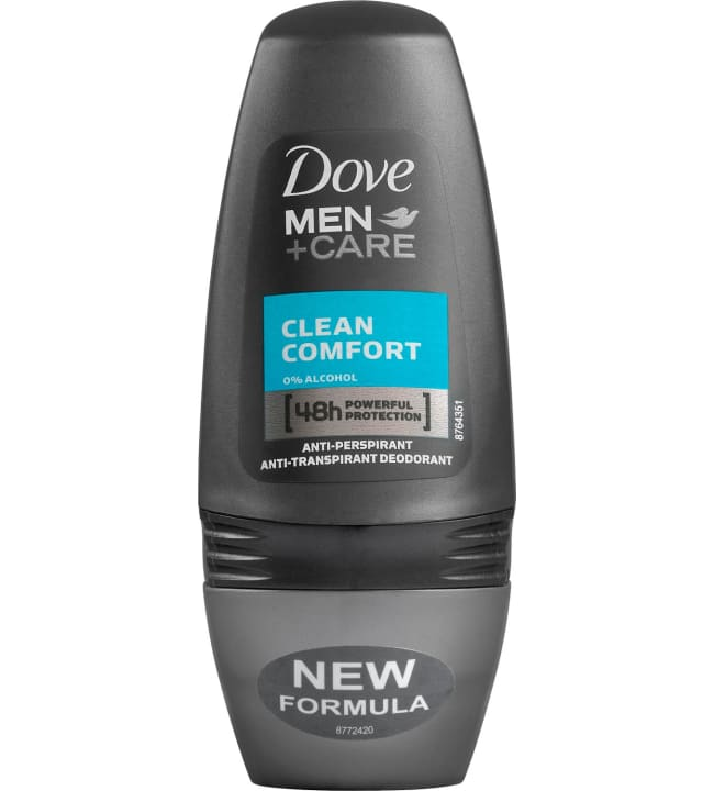 Dove Men+Care Clean Comfort 50 ml roll on deodorantti