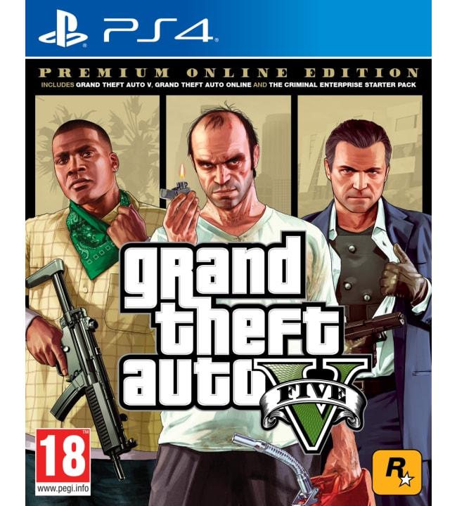 Grand Theft Auto V Premium Online Edition PS4