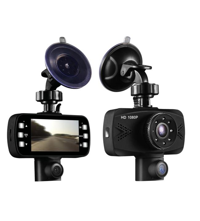 Streetwize HD Twin 350* autokamera