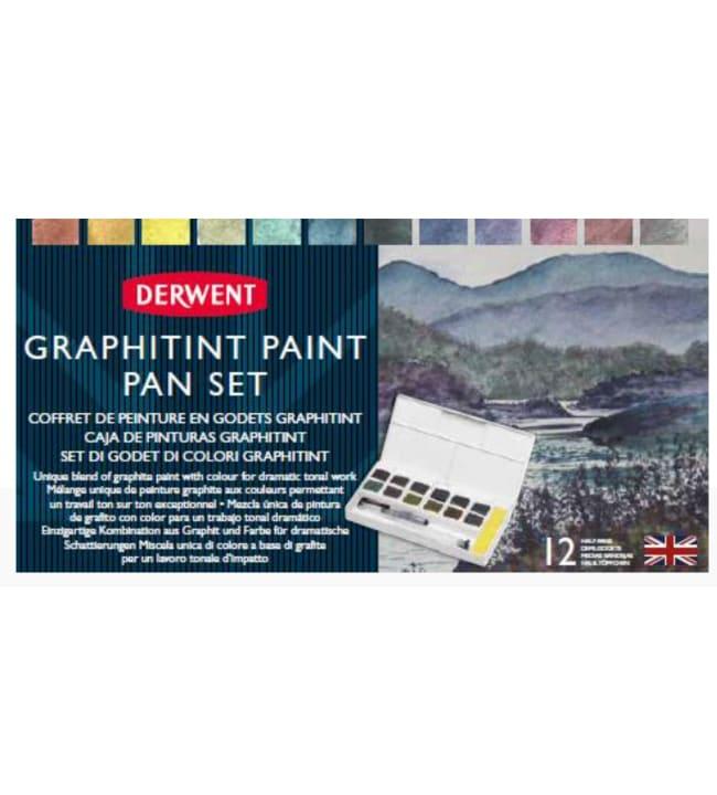 Derwent Graphitint Paint akvarellilajitelma