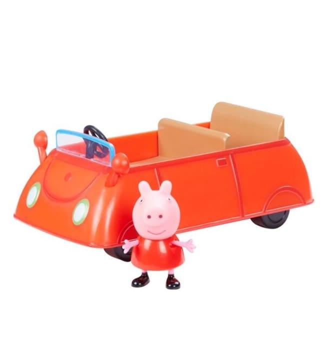 Pipsa Possu ja ajoneuvo