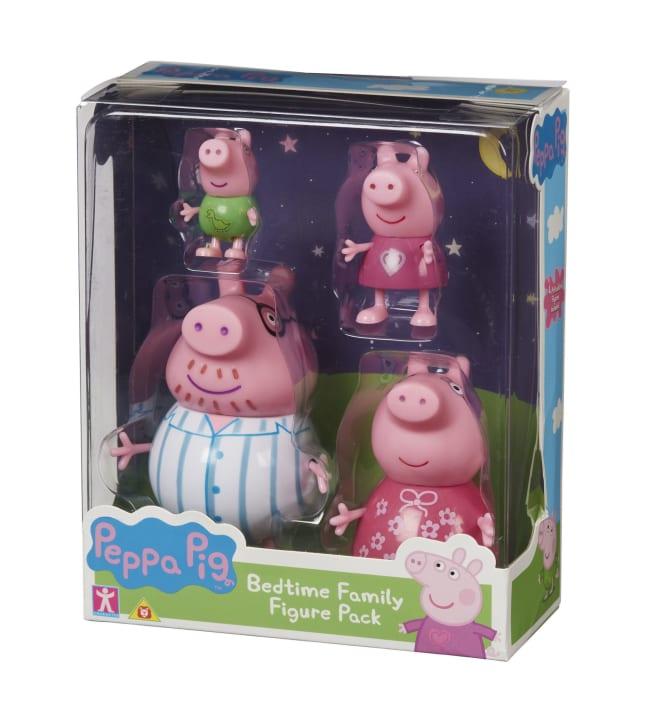 Pipsa Possu Bedtime Family Pack figuuripakkaus