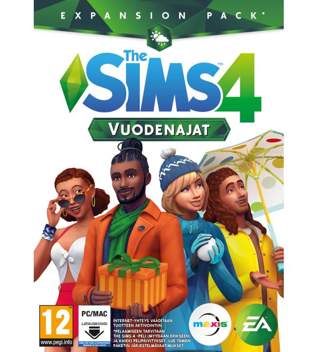 The Sims 4 Vuodenajat lisäosa PC
