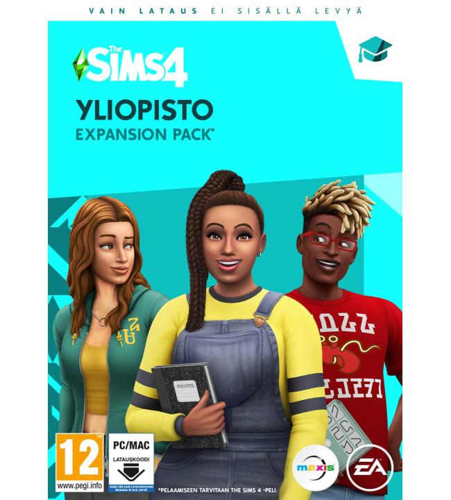 The Sims 4 Yliopisto lisäosa PC