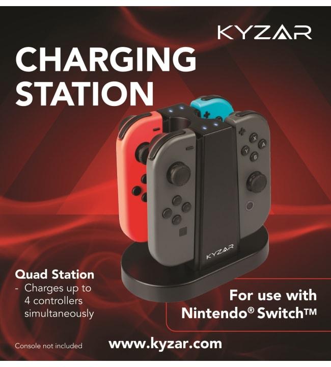 Kyzar Switch Joy-Con lataustelakka