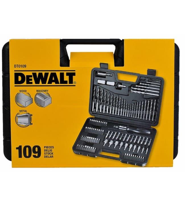 DeWalt DT0109 109-osainen tarvikesarja