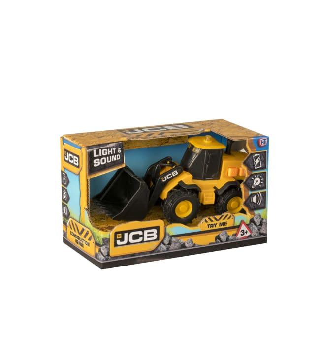 JCB 15cm työmaa-ajoneuvo äänillä ja valoilla