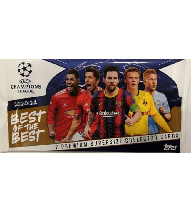 Champions League Best of The Best -keräilykortit