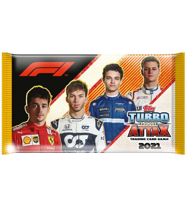 F1 Turbo Attax keräilykortit