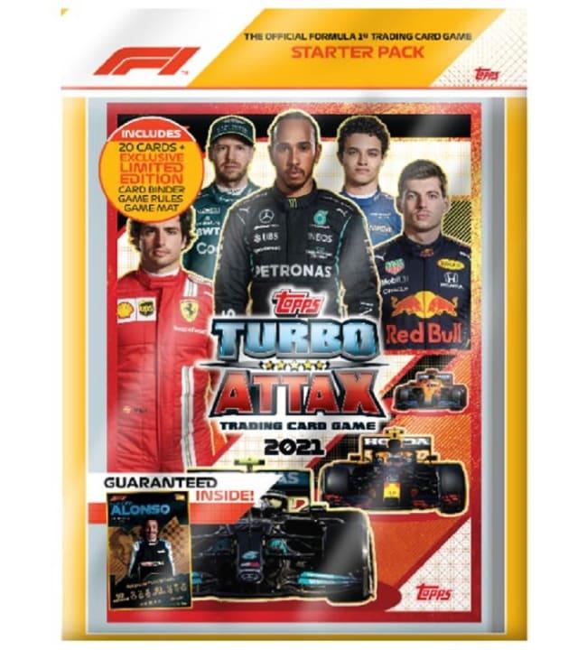 F1 Turbo Attax keräilykortit aloituspakkaus