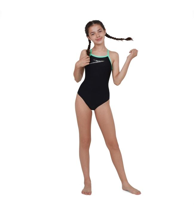 Speedo Boom Placement Thinstrap Muscleback tyttöjen uima-asu