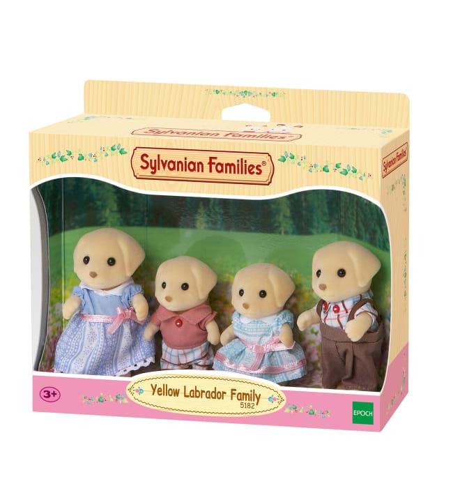 Sylvanian Families 5182 Keltainen labradoriperhe