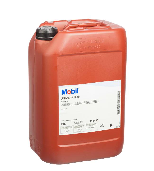 Mobil Univis N32 20L hydrauliikkaöljy