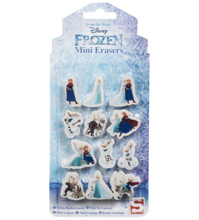 Frozen mini pyyhekumit