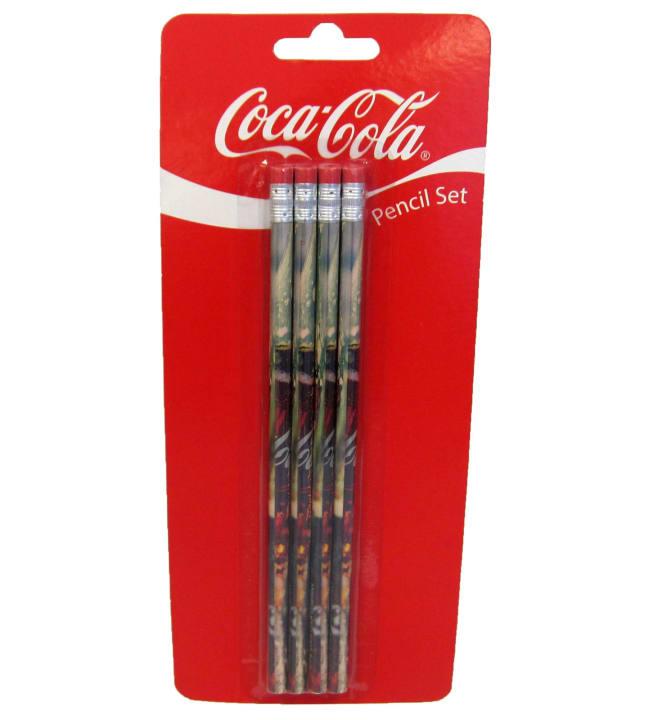 Coca-Cola 4 kpl lyijykynät