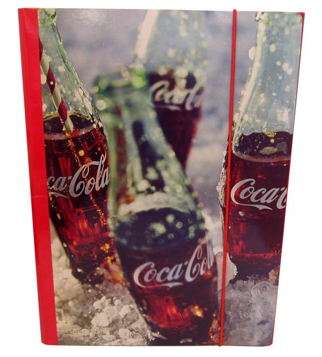 Coca-Cola A4 kulmalukkokansio