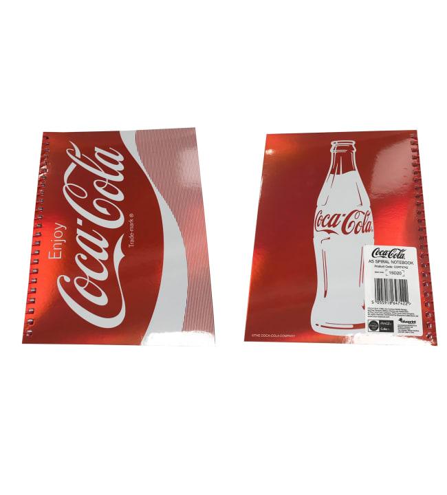 Coca-Cola Metallic A5 kierrevihko