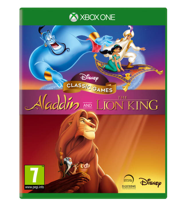 Aladdin and The Lion King Xbone