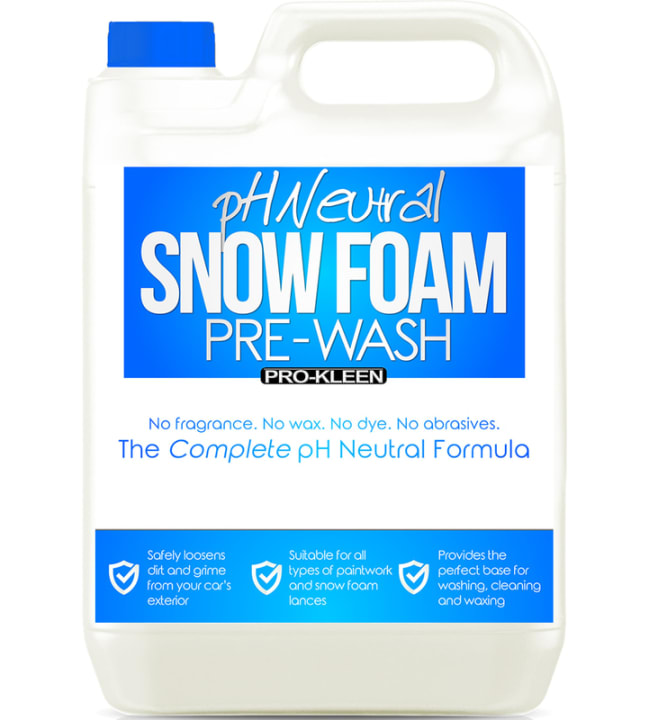 Pro-Kleen pH-neutral Snow Foam Pre-Wash 5L esipesuaine