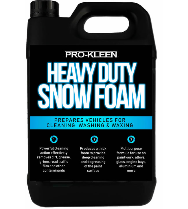 Pro-Kleen Heavy Duty Snow Foam 5L vaahtopesuaine