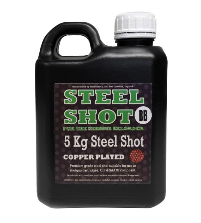 SteelShot 5 kg kuparipinnoitettu teräshauli