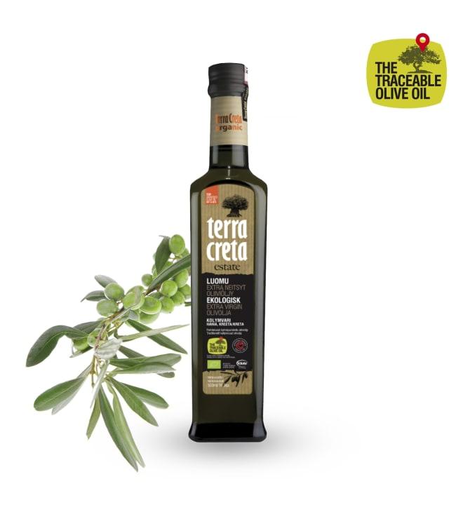 Terra Creta Luomu 500 ml oliiviöljy