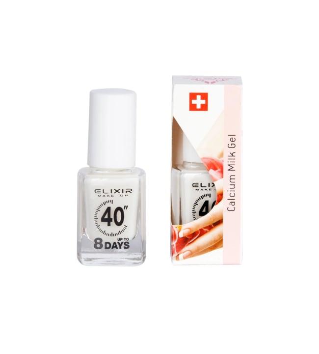 Elixir Make-Up Calcium Milk Gel 13 ml kynsien hoitoaine