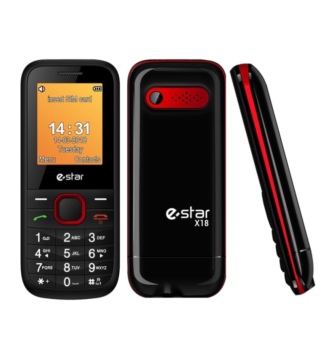 E-Star X18 puhelin