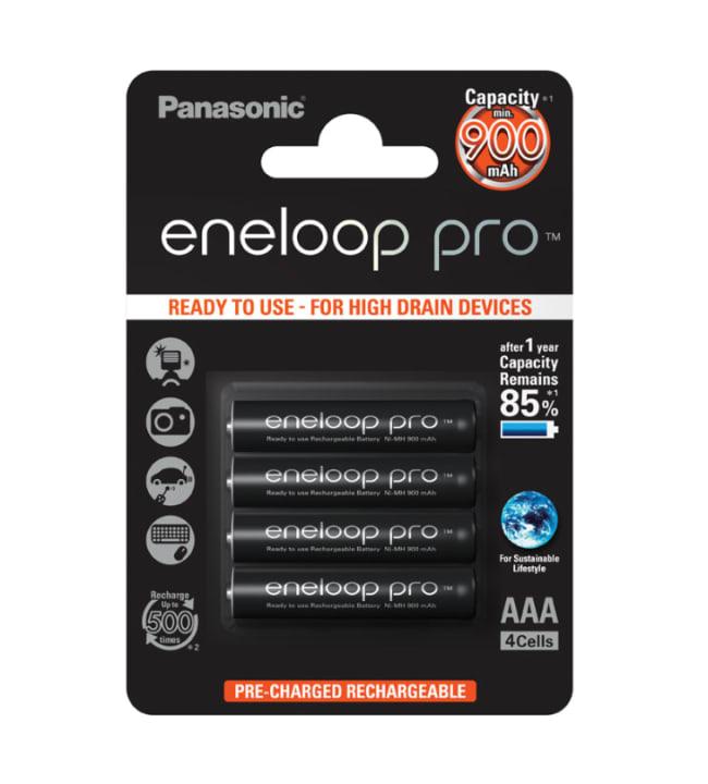 Panasonic Eneloop Pro 4 kpl 930mAh AAA akkuparisto
