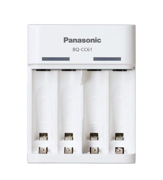Panasonic Eneloop BQ-CC61 AA/AAA paristolaturi